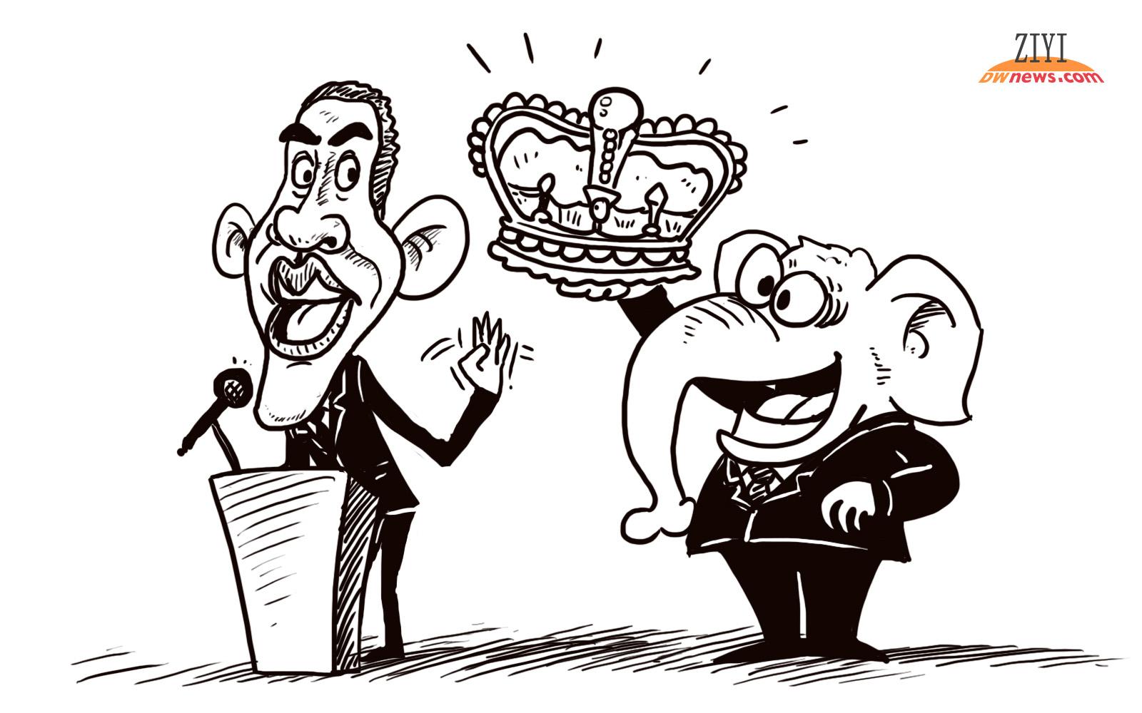 时政漫画和生活漫画