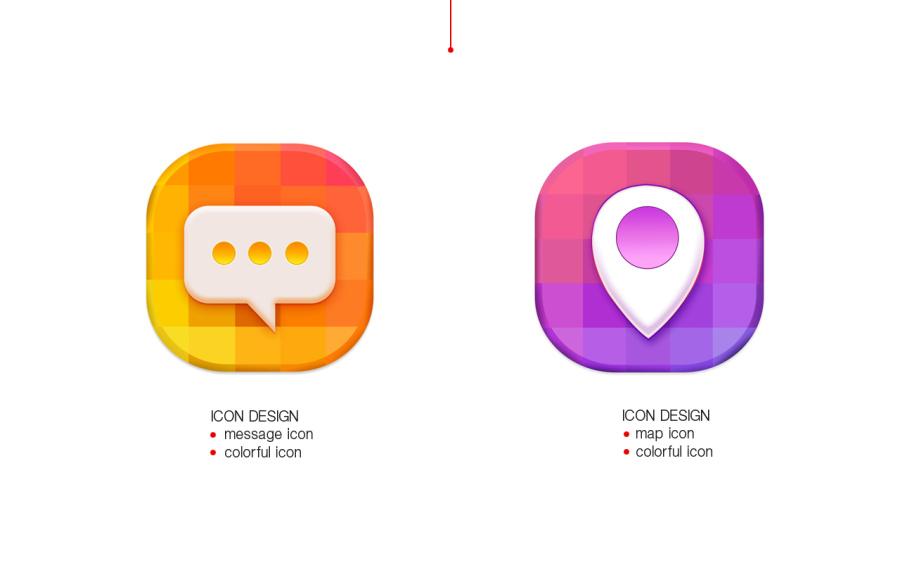 拟物icon|图标|GUI|赵cccc - 原创设计作品 - 站酷
