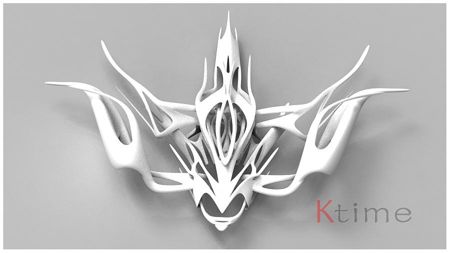 【KTime】【雪鸮】3D打印设计|场景|三维|Elo