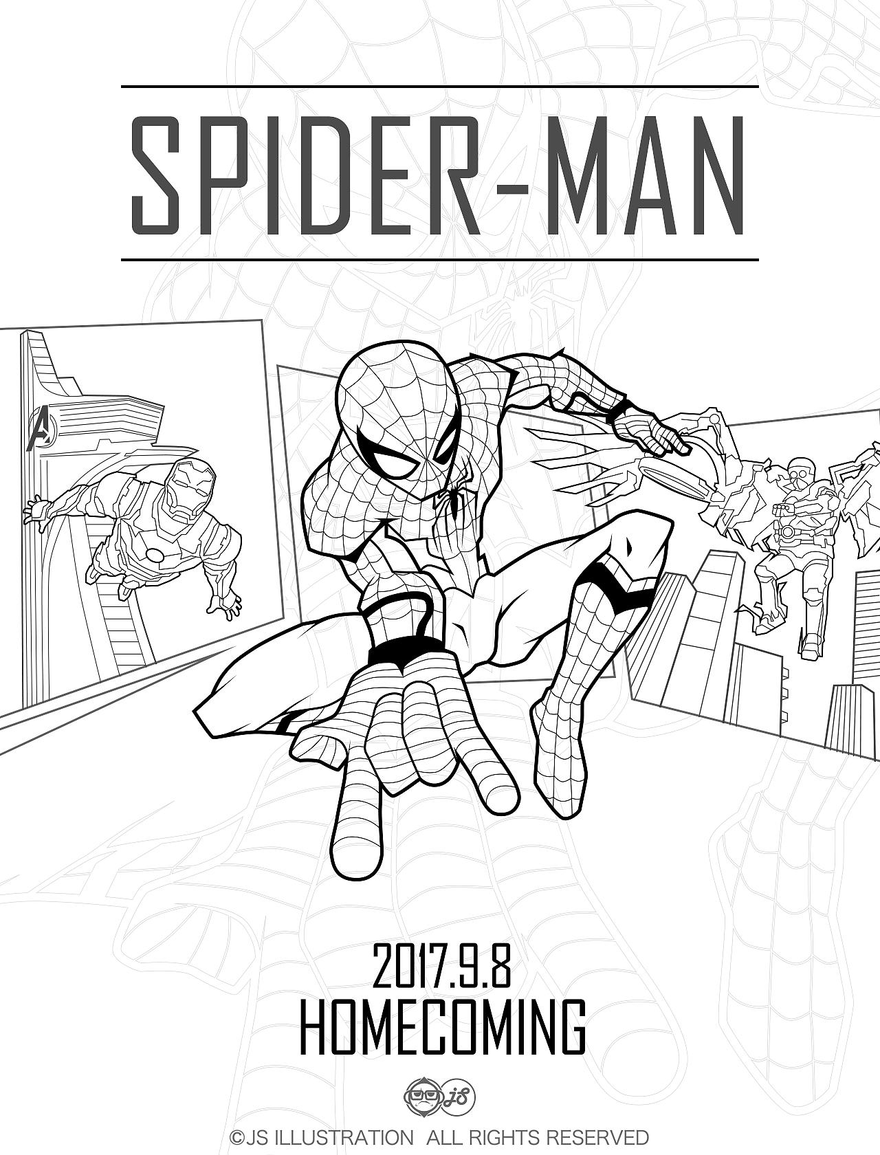 蜘蛛侠 英雄归来
