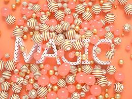 C4D三维动态:MAGIC VISION工作室三周年宣传片