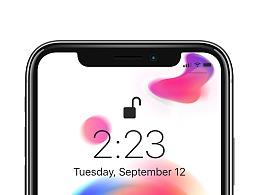 iphoneX壁纸临摹
