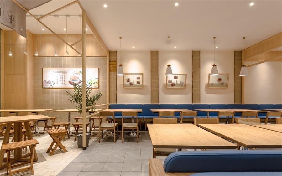 作家设计,牛楠楠岭南小吃店设计餐饮名片设计在线图片