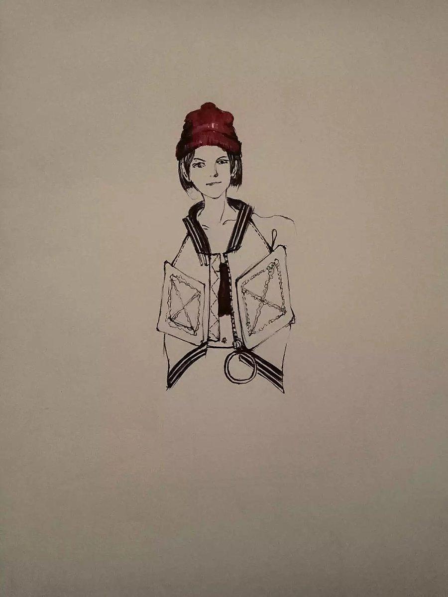 gd权志龙/我的服装手绘