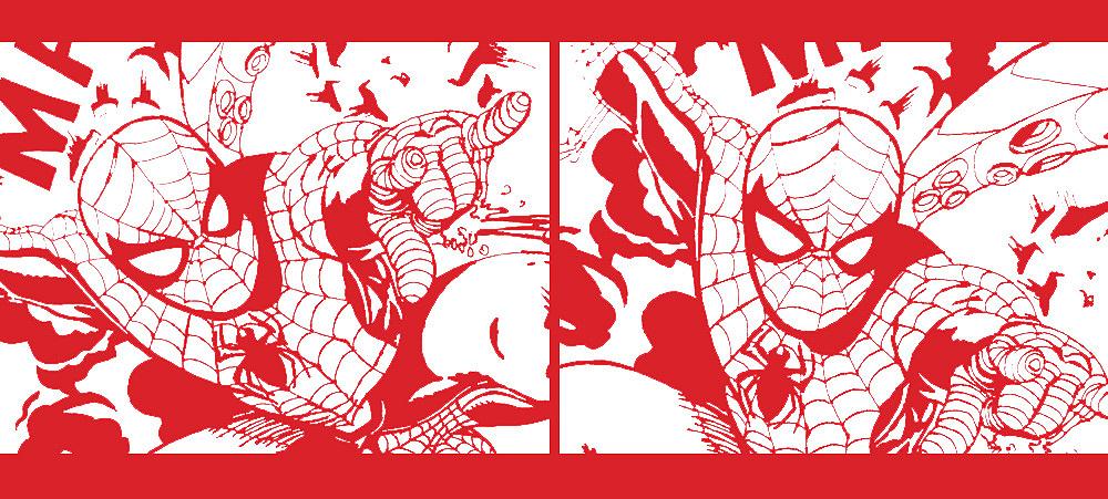 蜘蛛侠 英雄归来 手绘