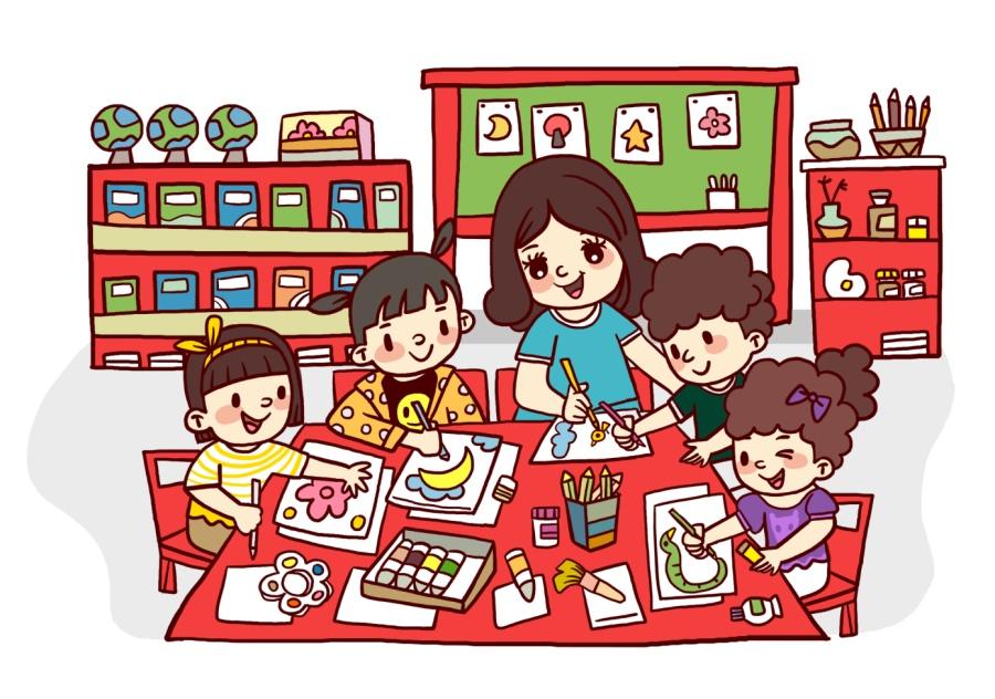 手绘定制幼儿园毕业纪念册|商业插画|插画|丁阳