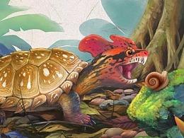 山海灵宠——蛫龟