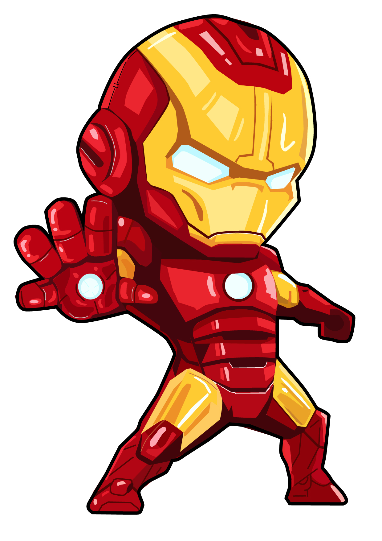 ironman卡通头像