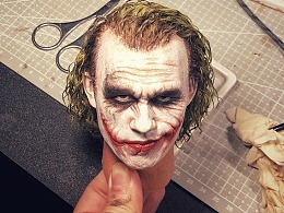 Queen Studios 1:3 Joker 头雕优化