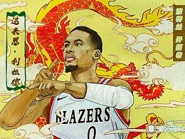 《NBA球星系列》