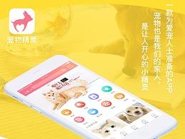 宠物精灵APP设计(竞品分析+UI视觉规范)