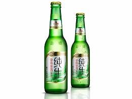 青岛啤酒修图练习
