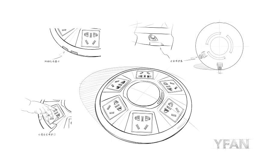 Rover开关插座原创意思图纸 电子产品 项目/产品 壹贰工设-手绘设计作品-站酷(ZCOOL)什么工业给排水图纸是yp图片