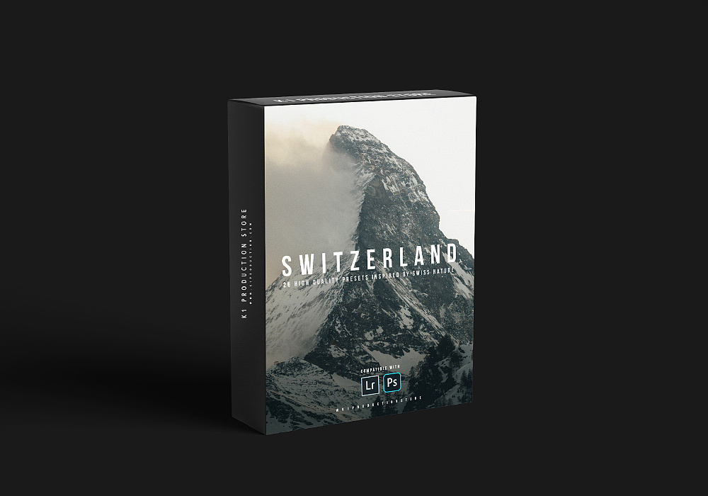 【P380】瑞士灵感预设包 k1production SWITZERLAND INSPIRED PRESET PACK