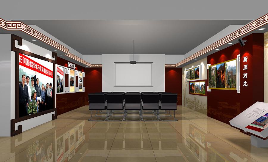 某政府展厅 成都展厅装修