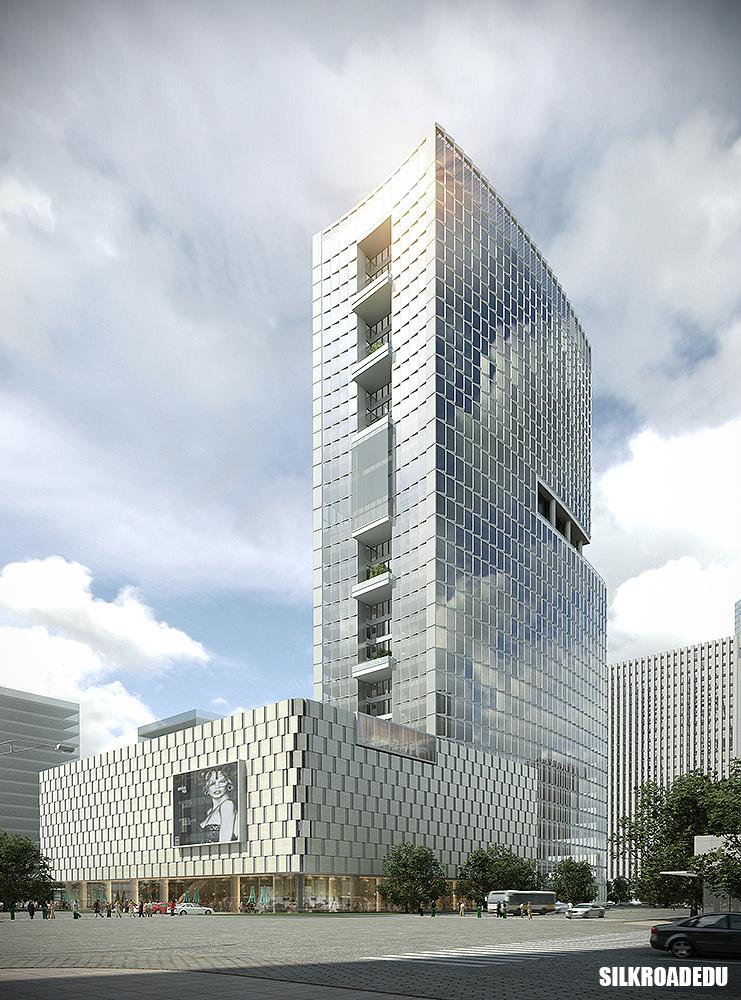 丝路学员建筑效果图展示 3d建模作品