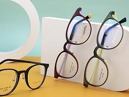 冠玉商贸TR90系列眼镜,产品照由大随视觉拍摄制作~