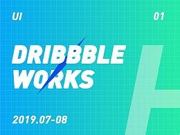 2019项目小结-dribbble 01