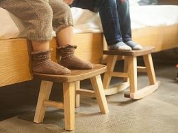 童搖小板凳/可拆卸的小木馬
