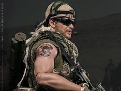 """美国""""绿色贝雷帽""""陆军特种部队在阿富汗"""
