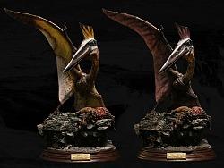 博物馆系列 - Quetzalcoatlus/风神翼龙 收藏级雕像