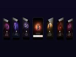 健身app分享页设计