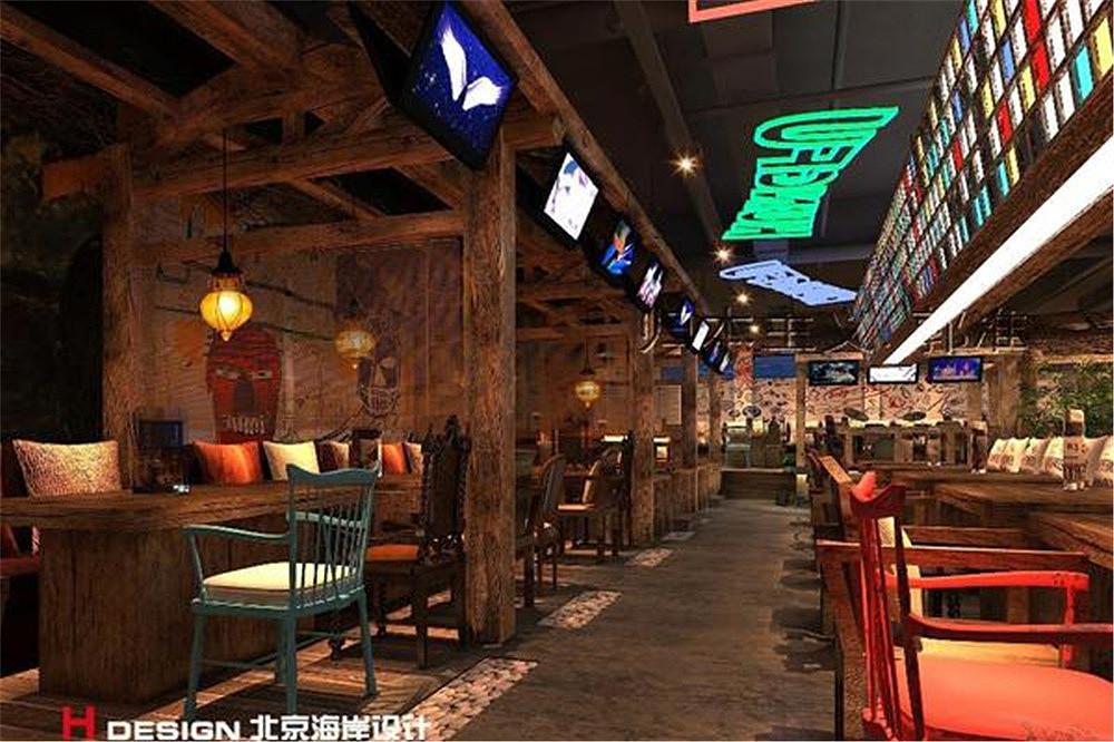 北京烤功夫餐饮设计平面|案例|室内设计|海岸设计做空间设计师好吗图片