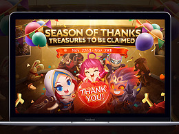 《MOBILE LEGENDS》Season of Thanks 感恩节活动页面
