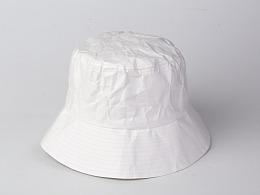 纸竹常乐防水撕不烂帽子(白色款)