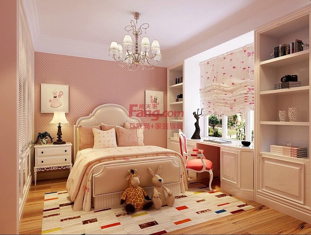 【奥北公元装修】奥北公元151㎡三室两厅户型简欧风格装修效果图案例图片