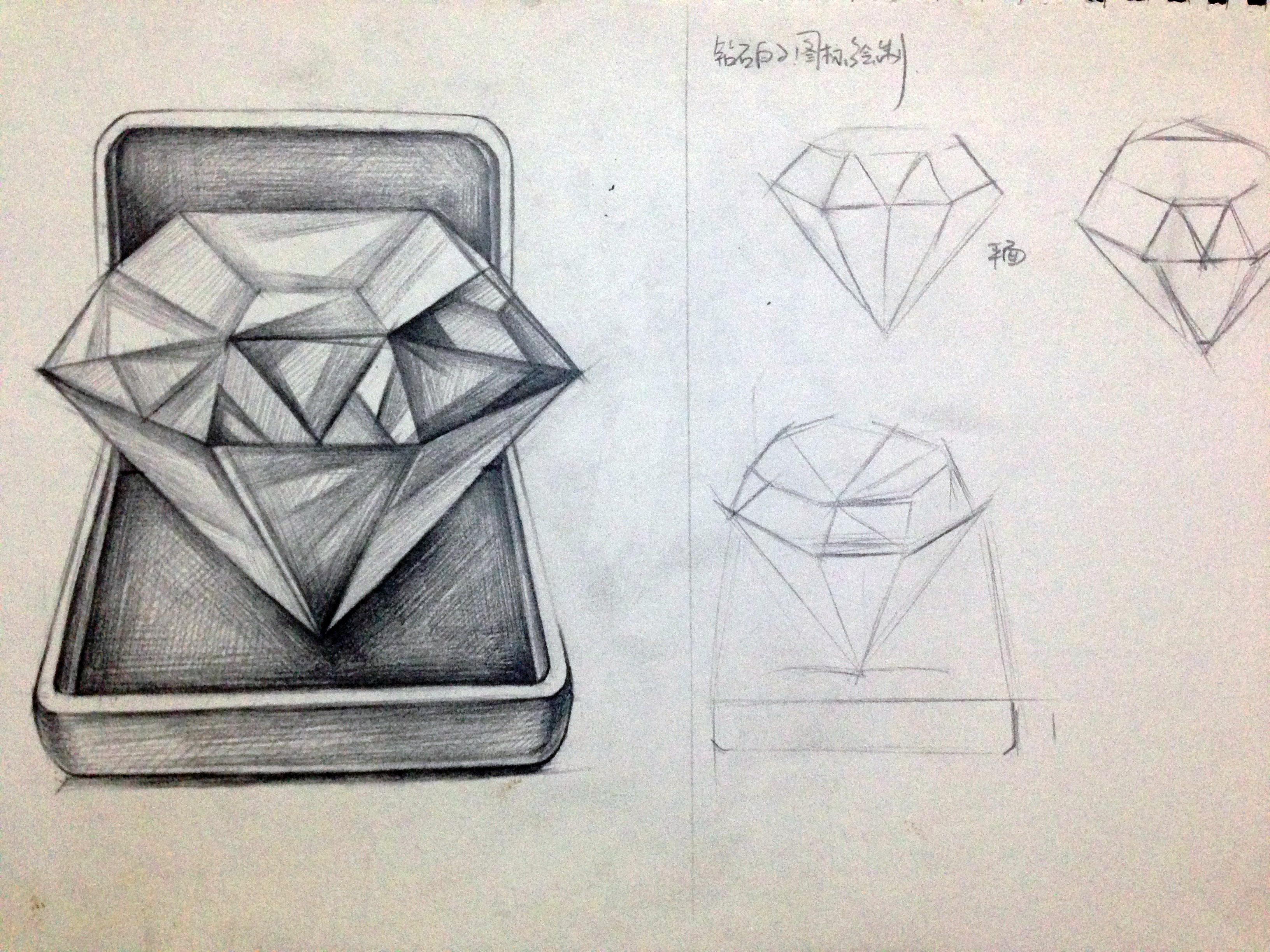 手绘板钻石效果