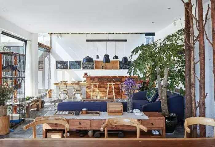 《慢屋酒店酒店装修设计》--长沙卡通民宿装修建筑设计师专业图片