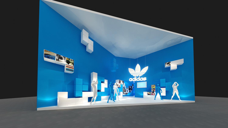三叶草展示空间设计