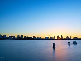 一座城市的日出与日落