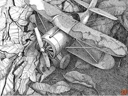 苏武钢笔插画的创作过程和方法2