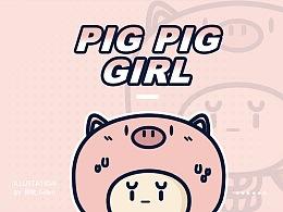 表情|精致的猪猪女孩