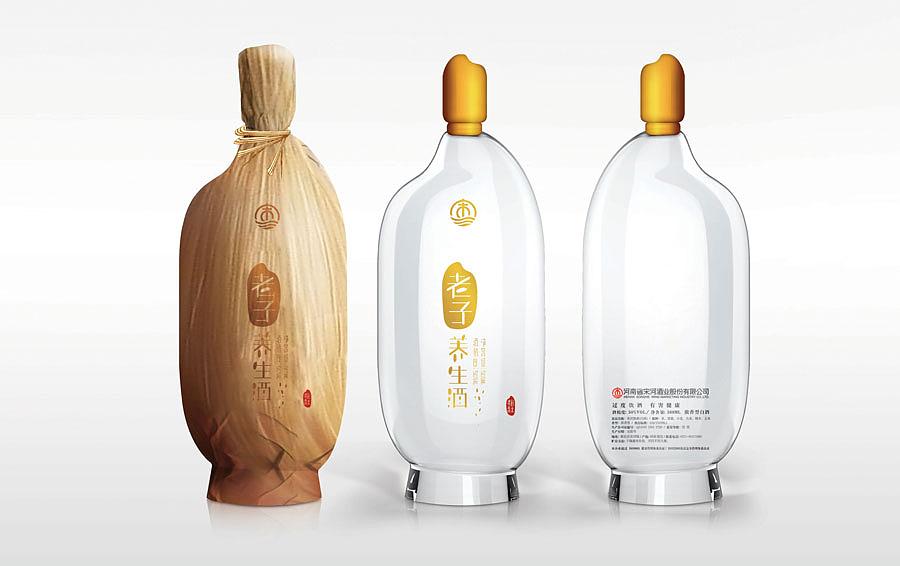 《老子养生酒》中国白酒创意包装设计大赛总冠军作品图片