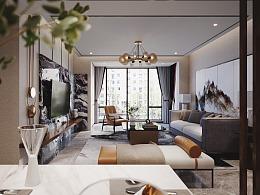 室内设计-新中式设计表现