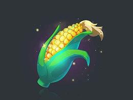 小教程-Q版玉米