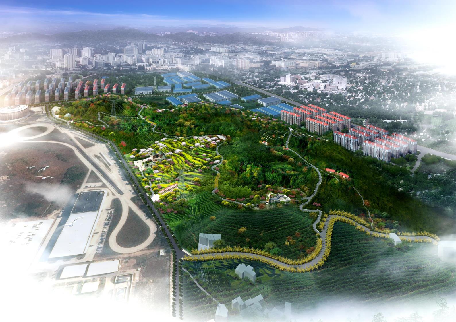 原创作品:福州-青口千家山标识主题公园门票导v标识生态图片素材图片