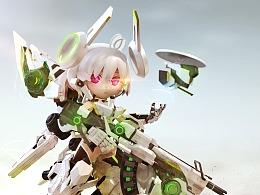 【重装战姬】RN特战型机甲及α-16激活状态