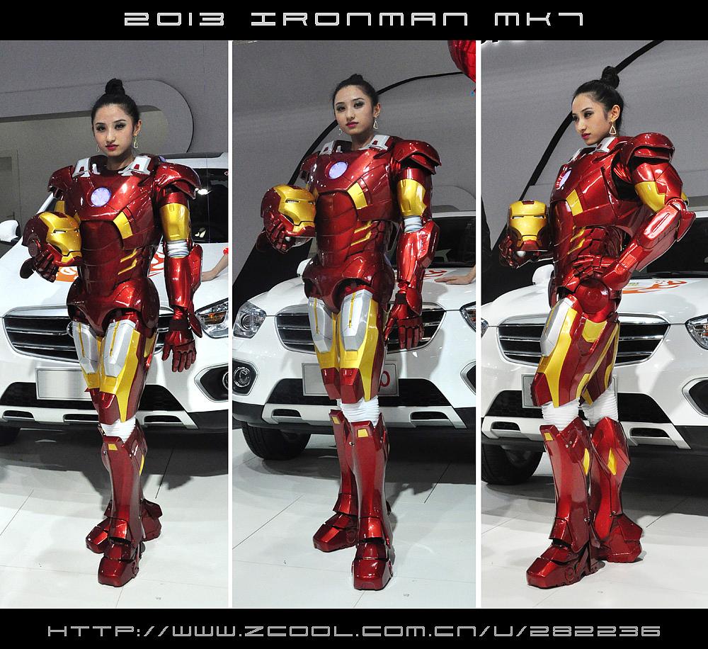 一套属于自己的钢铁侠盔甲 ironman mk7图片