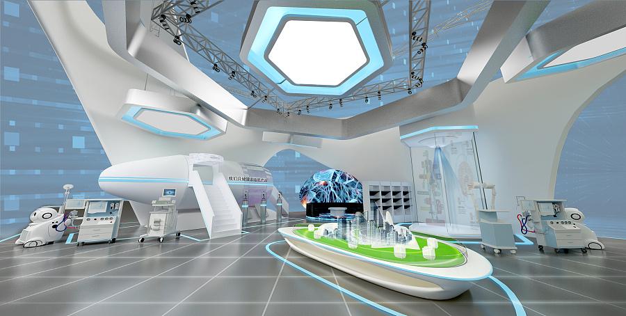 《智慧城市——医疗展示空间设计》图片