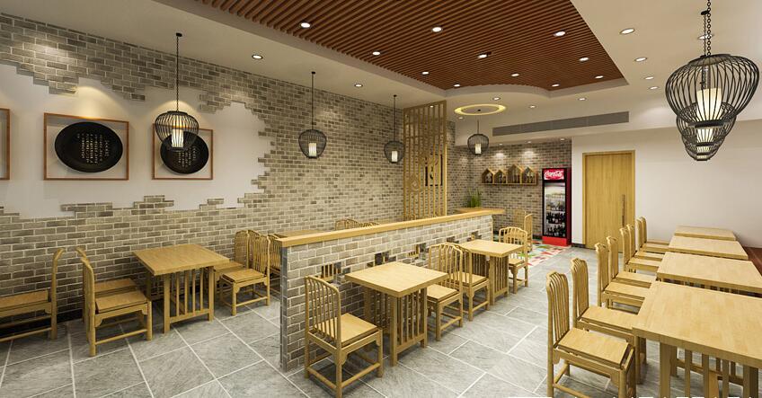 现代风格小吃店,成都小吃店装修公司|成都小吃店设计公司|成都特色