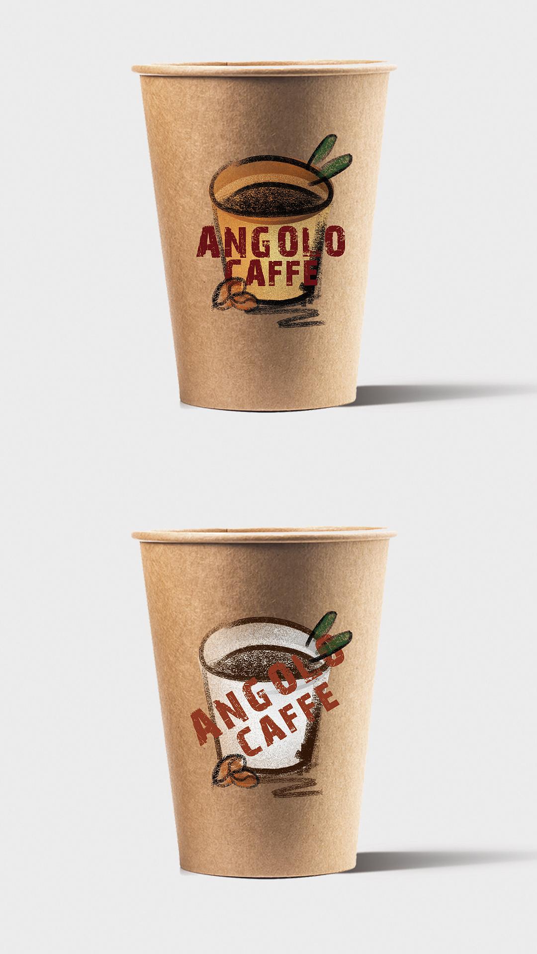 咖啡纸杯图案设计 (已商用)图片