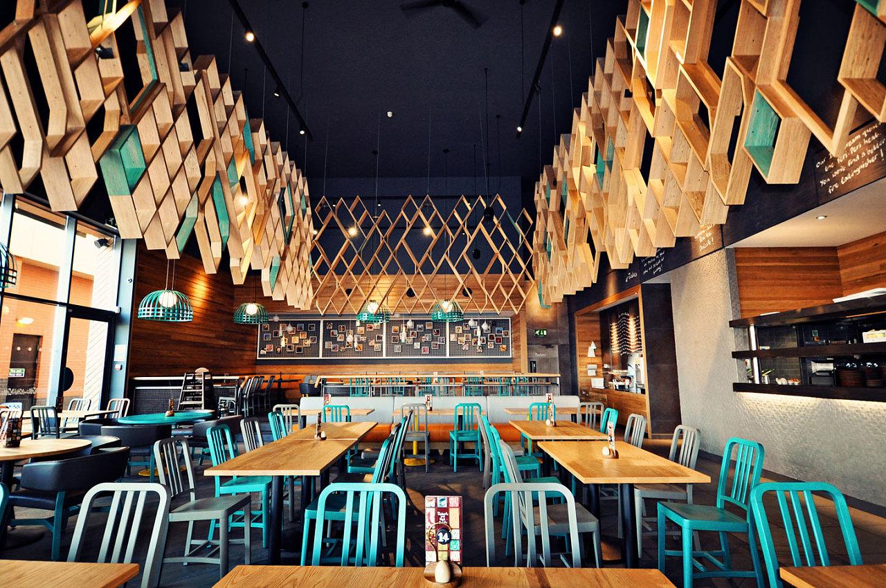 绵阳创意餐厅设计 峰域空间设计工作室|空间|室内设计图片