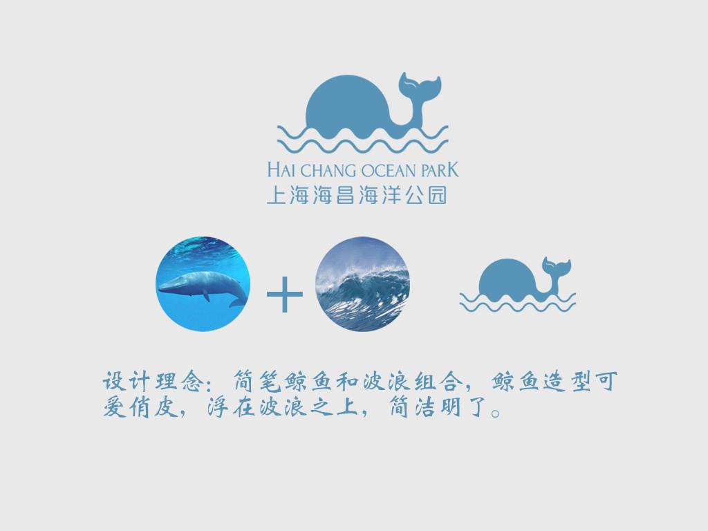 上海海昌海洋公园logo设计图片