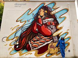 【涂鸦】宁波第二弹~祈祷的藏族少女