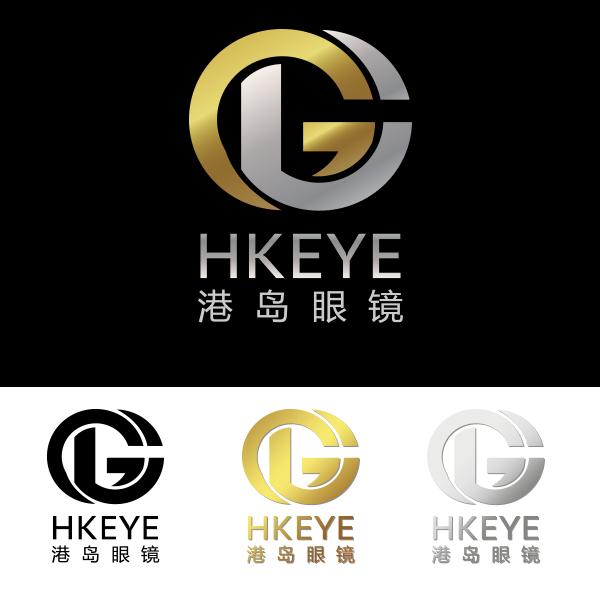 logo设计|眼镜店品牌logo-港岛眼镜