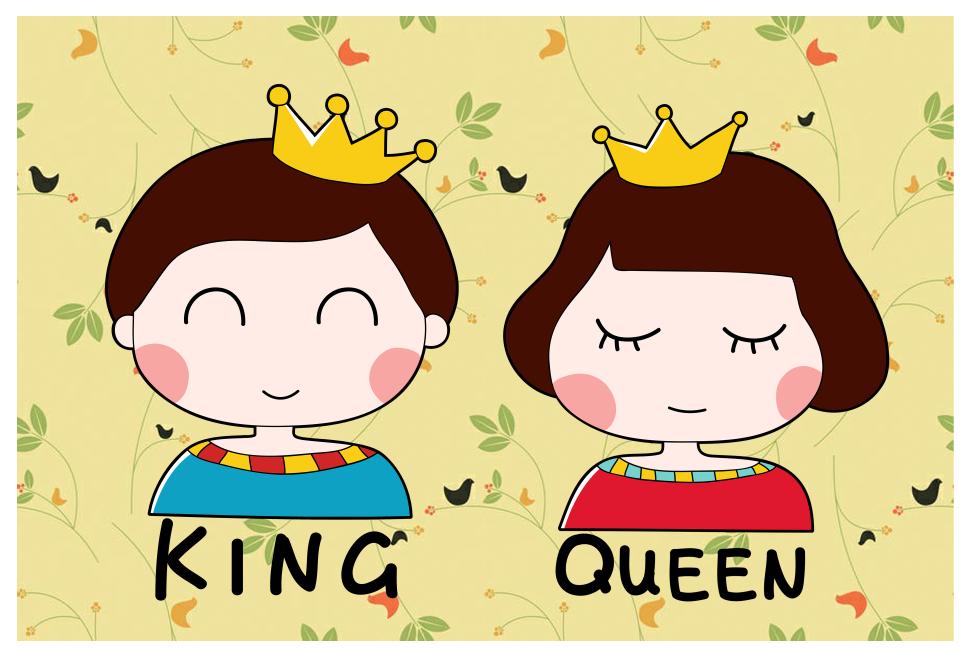 国王皇后情侣头像